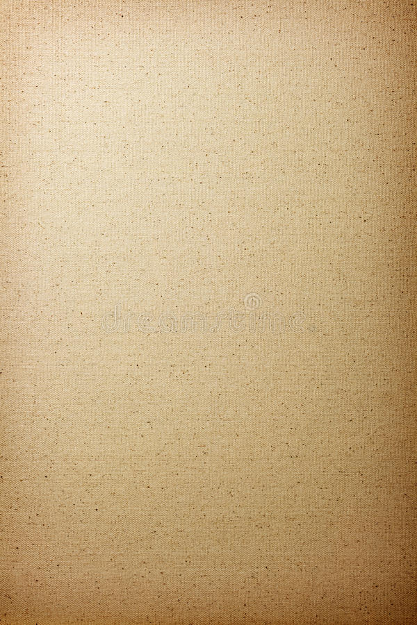 Canvas Texture. Brown cotton canvas texture for background. Top view royalty free stock photography