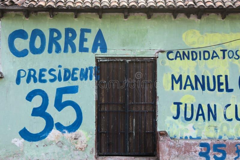 Download Canvassing in Ecuador editorial stock image. Image of ecuador - 41122529