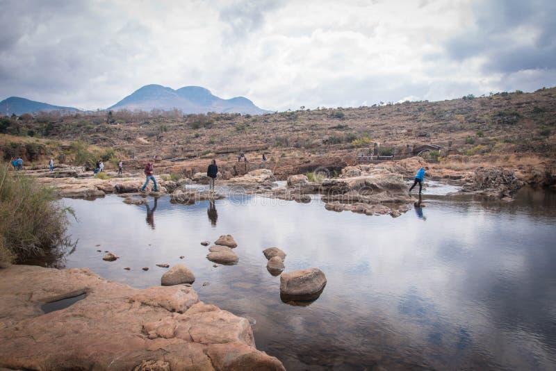 Canyon Afrique du Sud de rivière de Blyde image stock