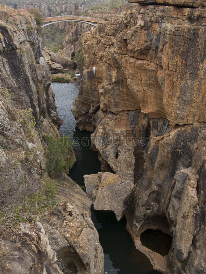 Free Canyon And River In South Africa Stock Photo - 7290110
