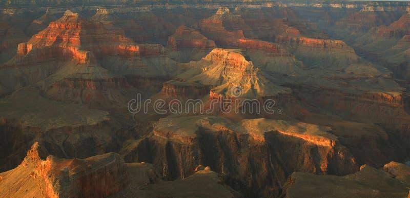 Canyon Apenglow fotografia stock libera da diritti