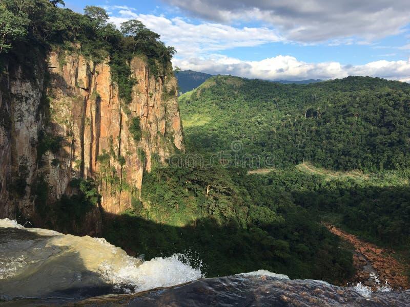 Canyon. Apucaraninha Canyon, waterfall of 136 mts, Tamarana Paraná Brazil, perfect nature, beautiful place royalty free stock photography