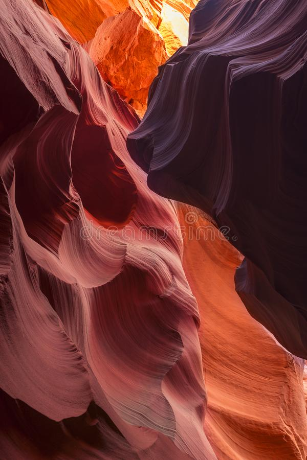 Canyon X, Arizona imagem de stock royalty free