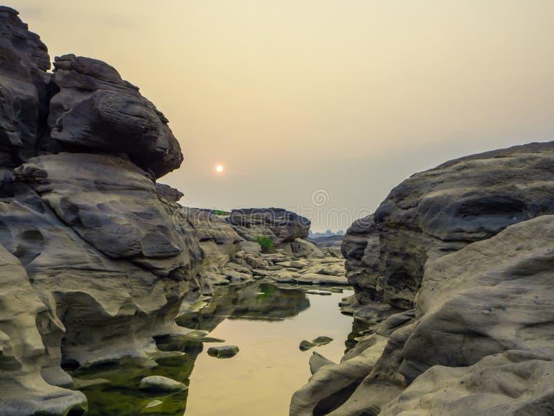 Grandcanyon of thailand. stock photo