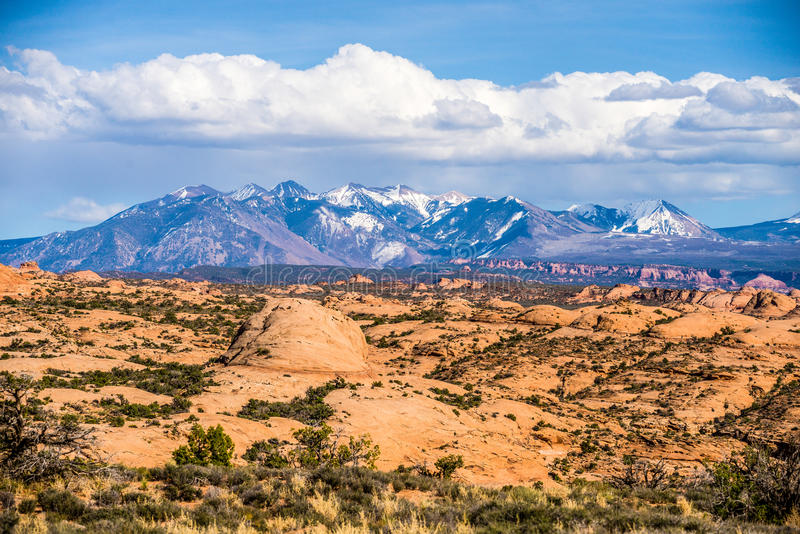 Canyon badlands and colorado rockies lanadscape. Canyon badlands colorado rockies lanadscape royalty free stock images