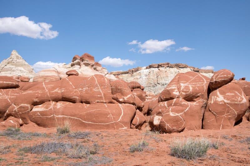 Canyon bleu, Arizona, Etats-Unis images stock