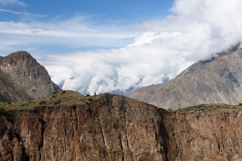Canyon Cotahuasi, Peru royalty free stock image