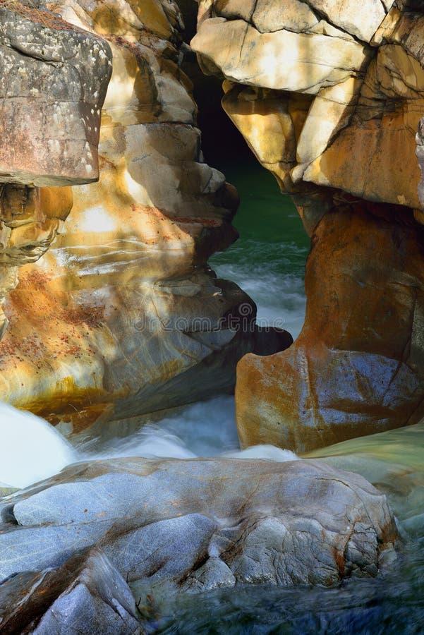 Canyon dans Caucase photos stock