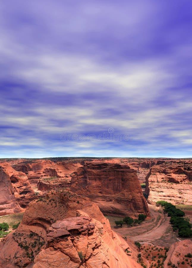 Canyon De Chelly lizenzfreie stockfotos