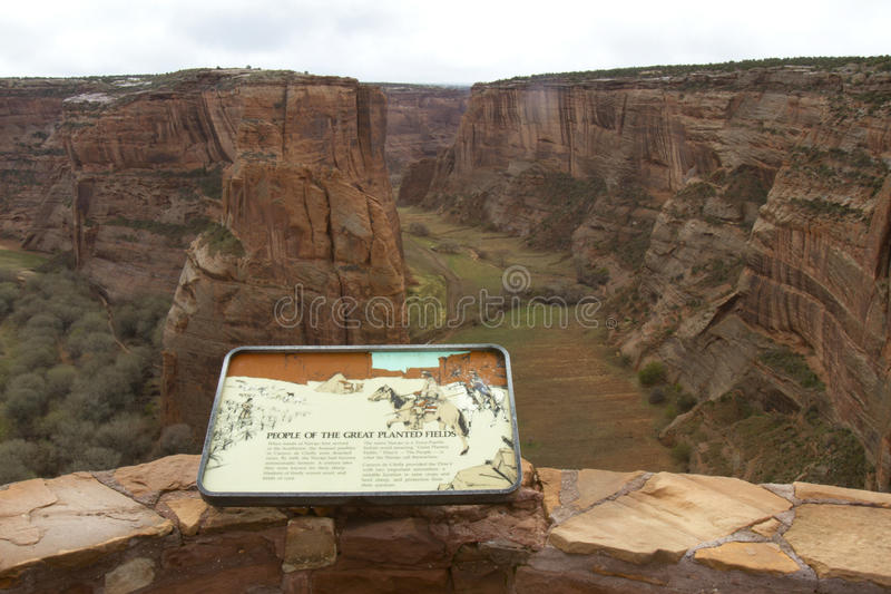 Canyon De Chelly - Painted Fields Editorial Photo
