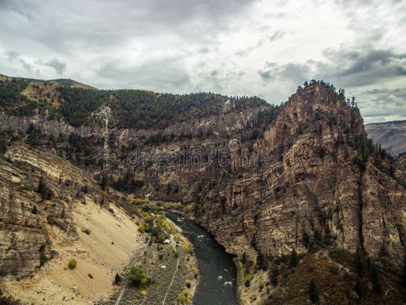 Canyon de Glenwood - le Colorado images stock