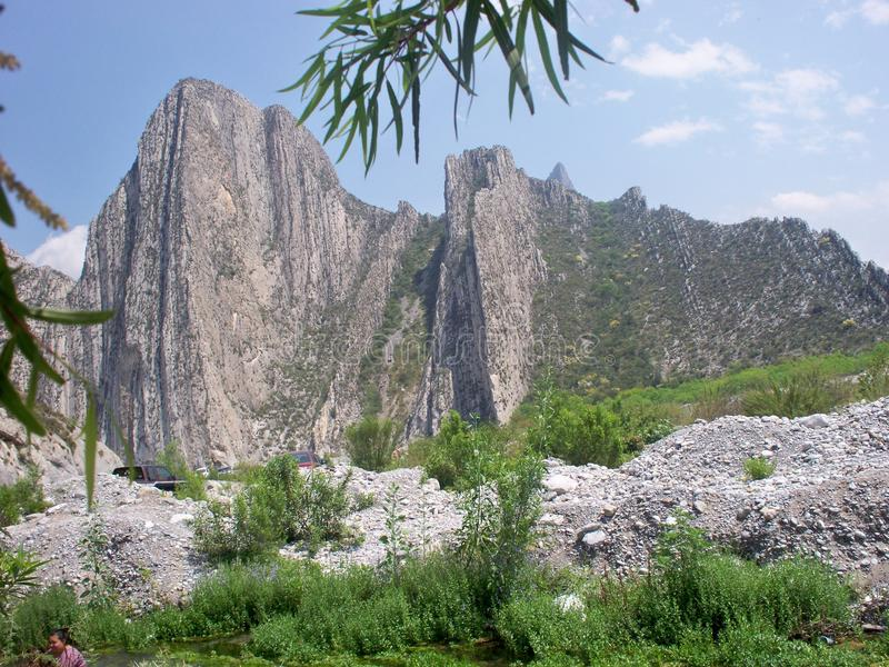 Canyon de Huasteca Monterrey, ³ n de Nuevo Leà photos libres de droits