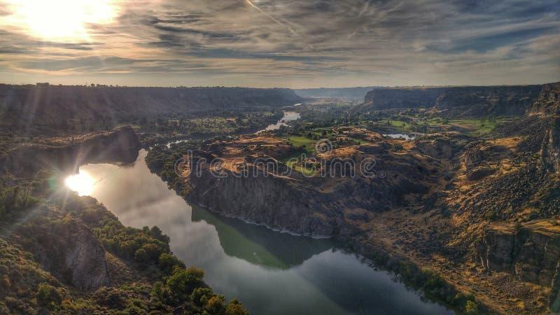 Canyon de la rivière Snake images libres de droits