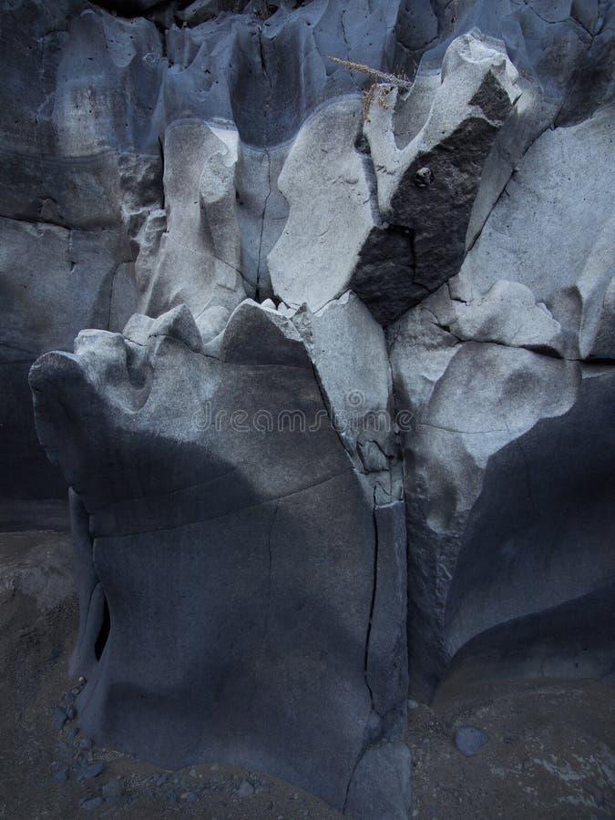 Canyon de magie noire photos stock