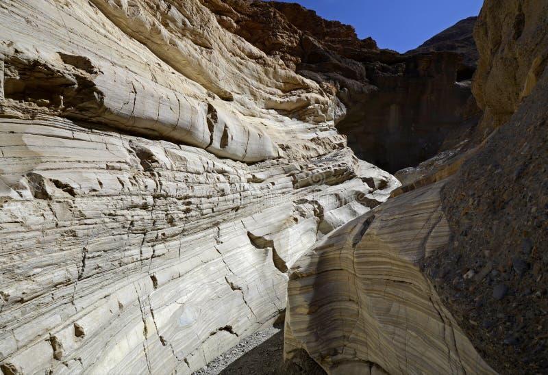 Canyon de mosaïque Death Valley, la Californie, Etats-Unis images libres de droits