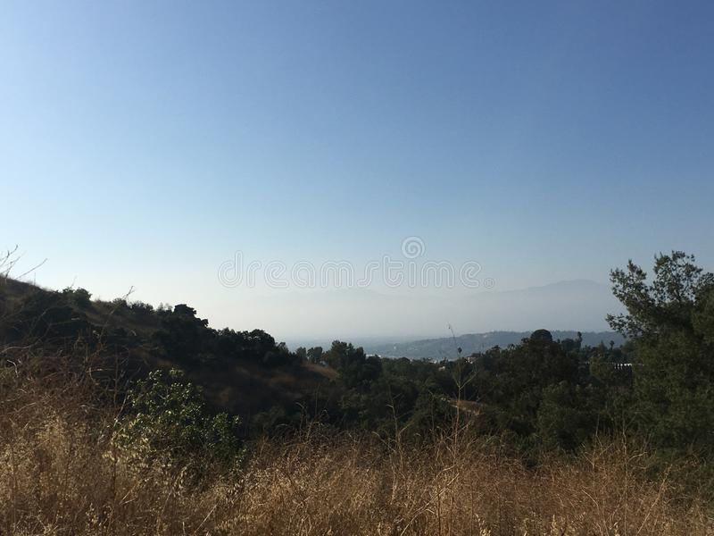 Canyon de poudre - San Gabriel Valley photos stock
