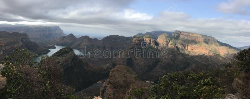 Canyon de rivière de Blyde dans le dafrika de ¼ de SÃ - Afrique du Sud image libre de droits