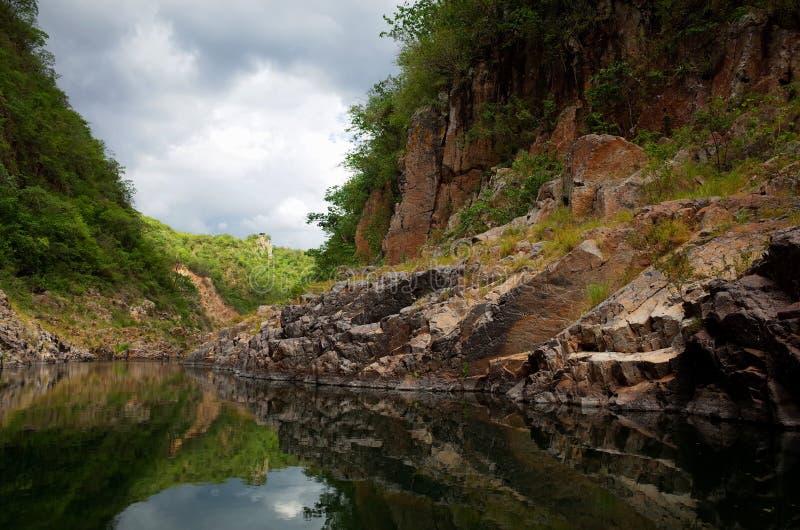 Canyon de Somoto photos stock