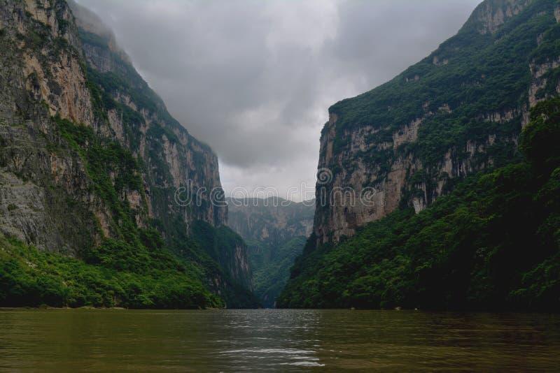 Canyon de Sumidero photos libres de droits