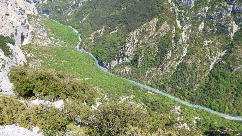 Canyon de Verdon, France photos stock