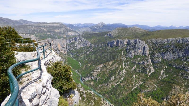 Canyon de Verdon, France photos libres de droits