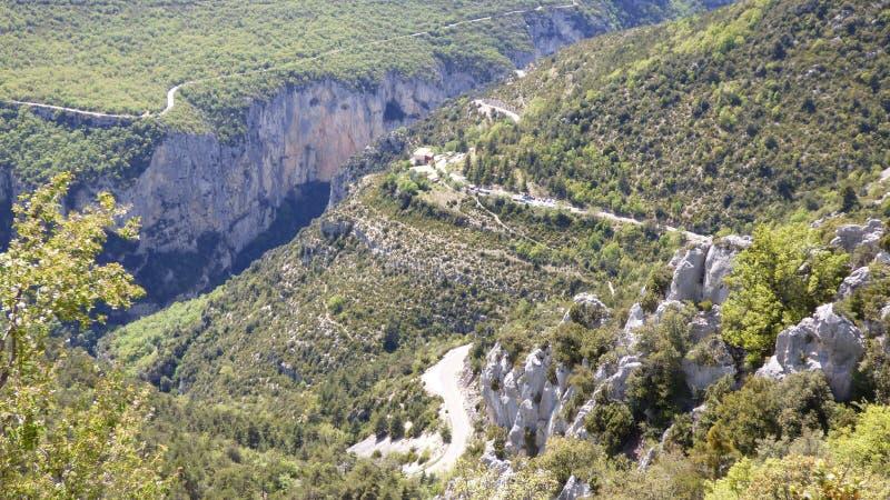 Canyon de Verdon, France images stock