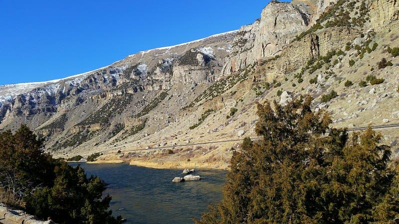Canyon de Wind River photographie stock libre de droits
