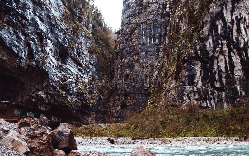 Canyon de Yupshar image stock