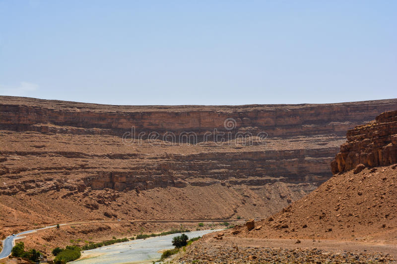 Canyon de Ziz photographie stock libre de droits