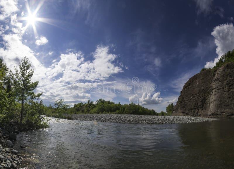 Canyon del fiume Piota fotografie stock