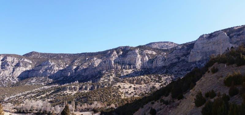 Canyon del fiume Wind fotografie stock