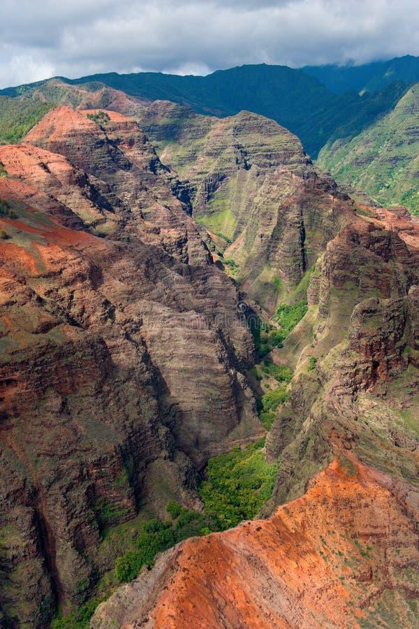 Canyon del Kauai immagine stock libera da diritti