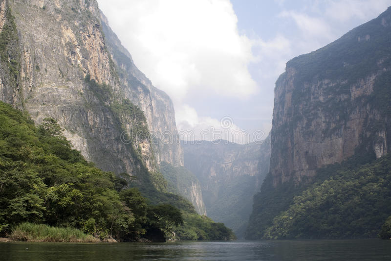 Canyon Del Sumidero stockbilder