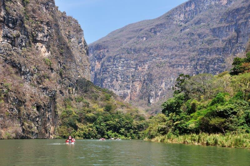 Canyon Del Sumidero stockfoto