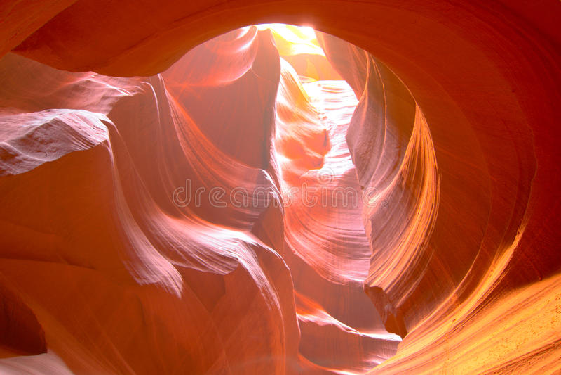 Canyon dell'antilope fotografie stock