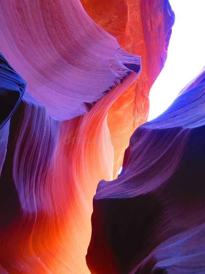 Canyon dell'antilope in Arizona fotografia stock libera da diritti