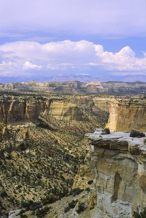Canyon dell'Utah del sud immagini stock