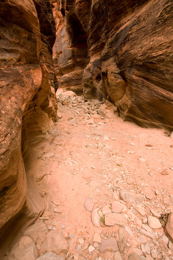 Canyon della scanalatura immagini stock libere da diritti