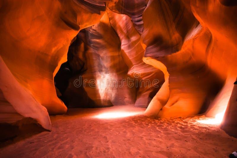 Canyon della scanalatura in Arizona immagine stock