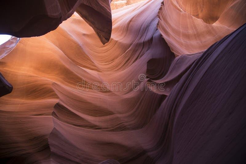 Canyon della scanalatura in Arizona fotografia stock