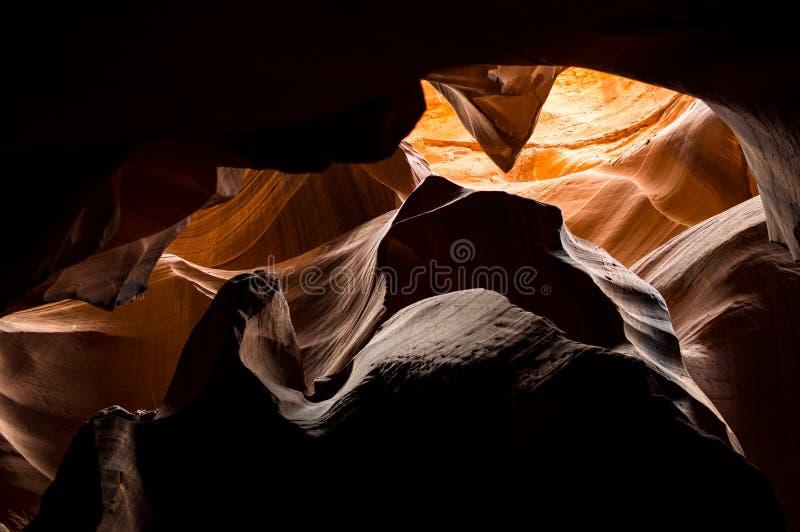 Canyon della scanalatura - canyon dell'antilope fotografia stock
