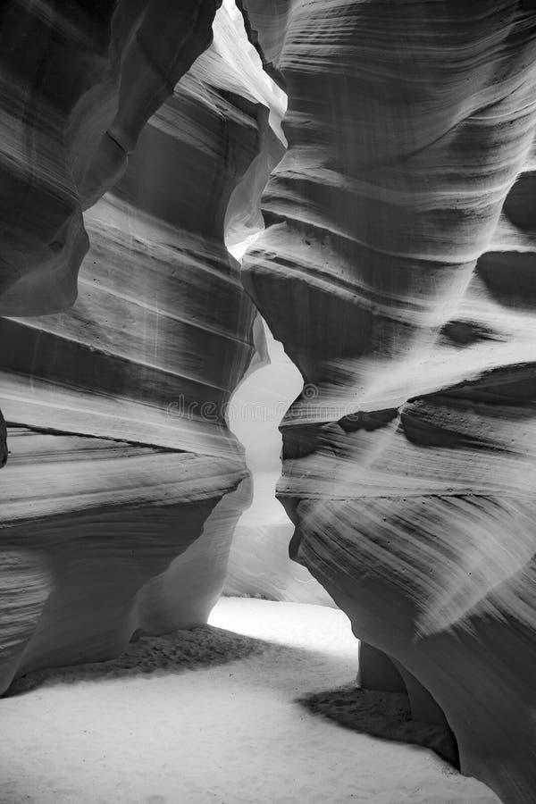 Canyon della scanalatura dell'antilope fotografia stock libera da diritti