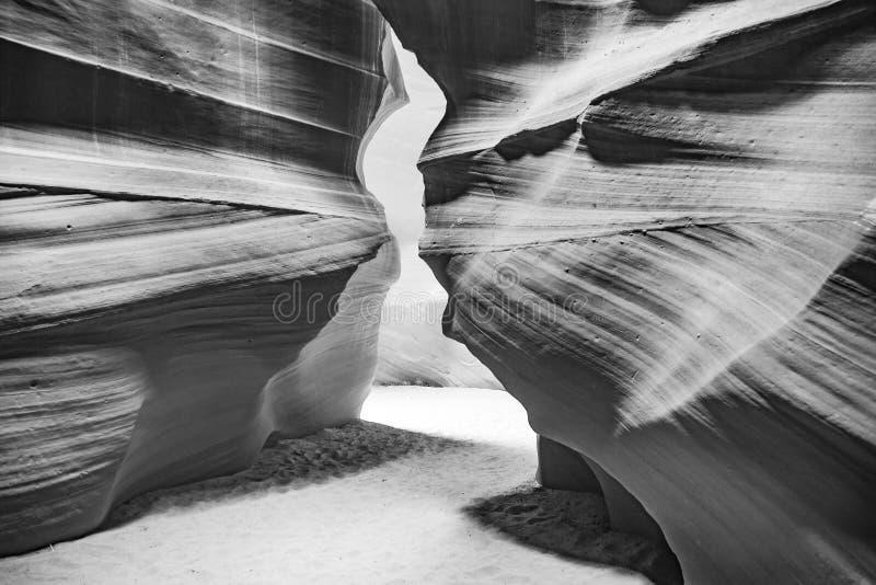 Canyon della scanalatura dell'antilope immagine stock libera da diritti