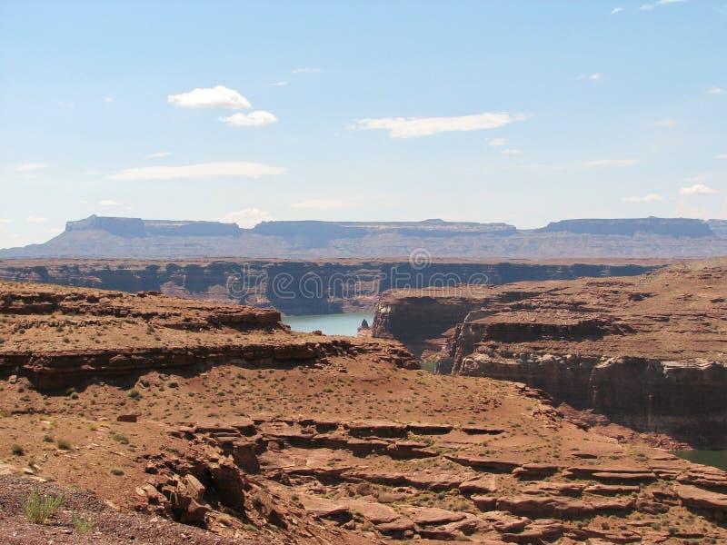 Canyon della valletta fotografia stock libera da diritti