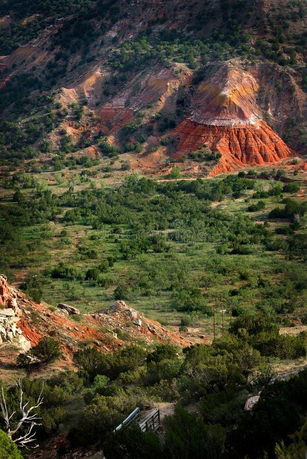 Canyon di Duro di Palo fotografie stock libere da diritti