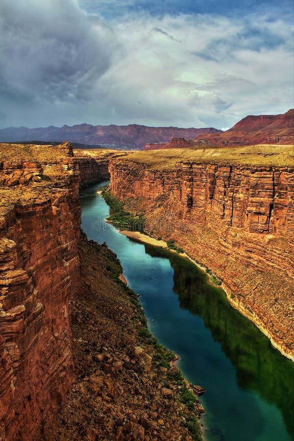Canyon di marmo nella contea di Coconino, Arizona fotografie stock