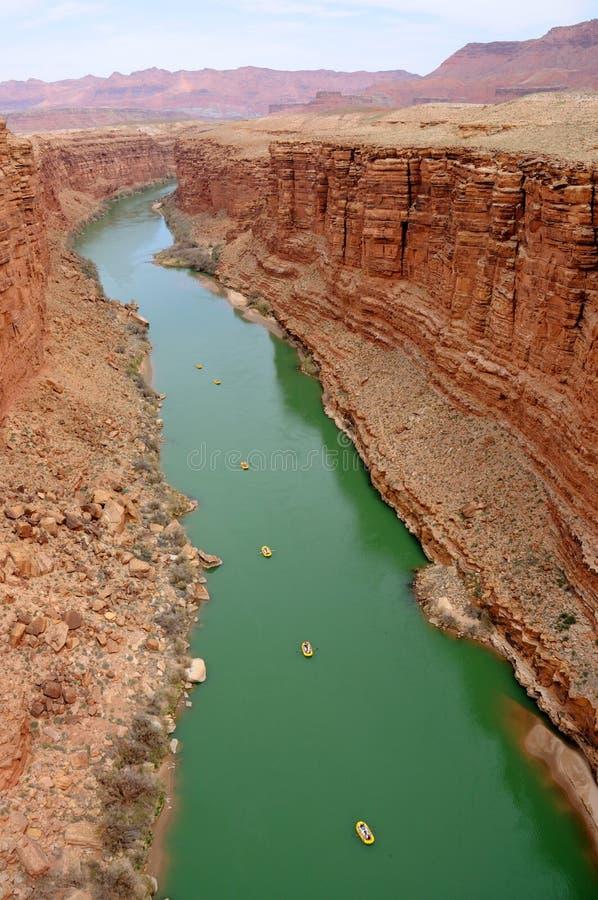 Canyon di marmo - ricreazione nazionale AR del canyon della valletta immagini stock libere da diritti
