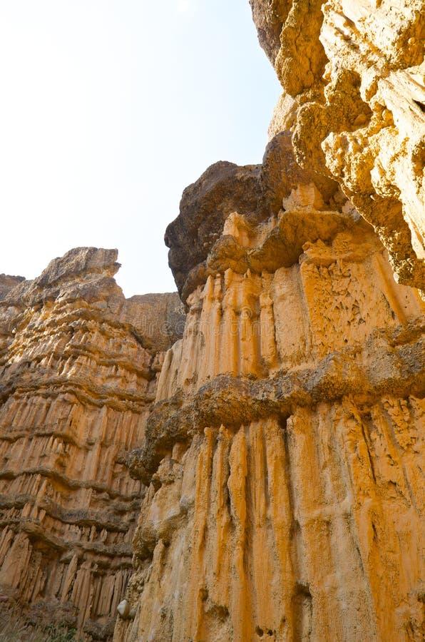 Canyon di Pha Chor in Maewang fotografie stock