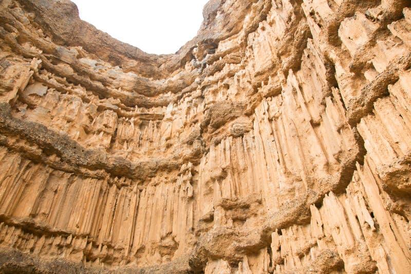 Canyon di Pha Chor nel parco nazionale di Maewang immagini stock libere da diritti