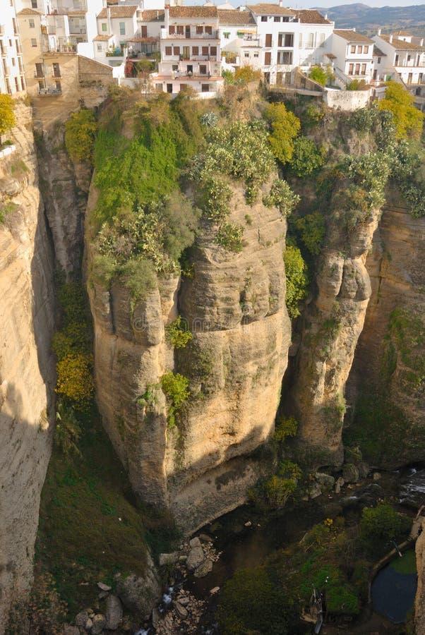 Canyon di Ronda fotografia stock libera da diritti